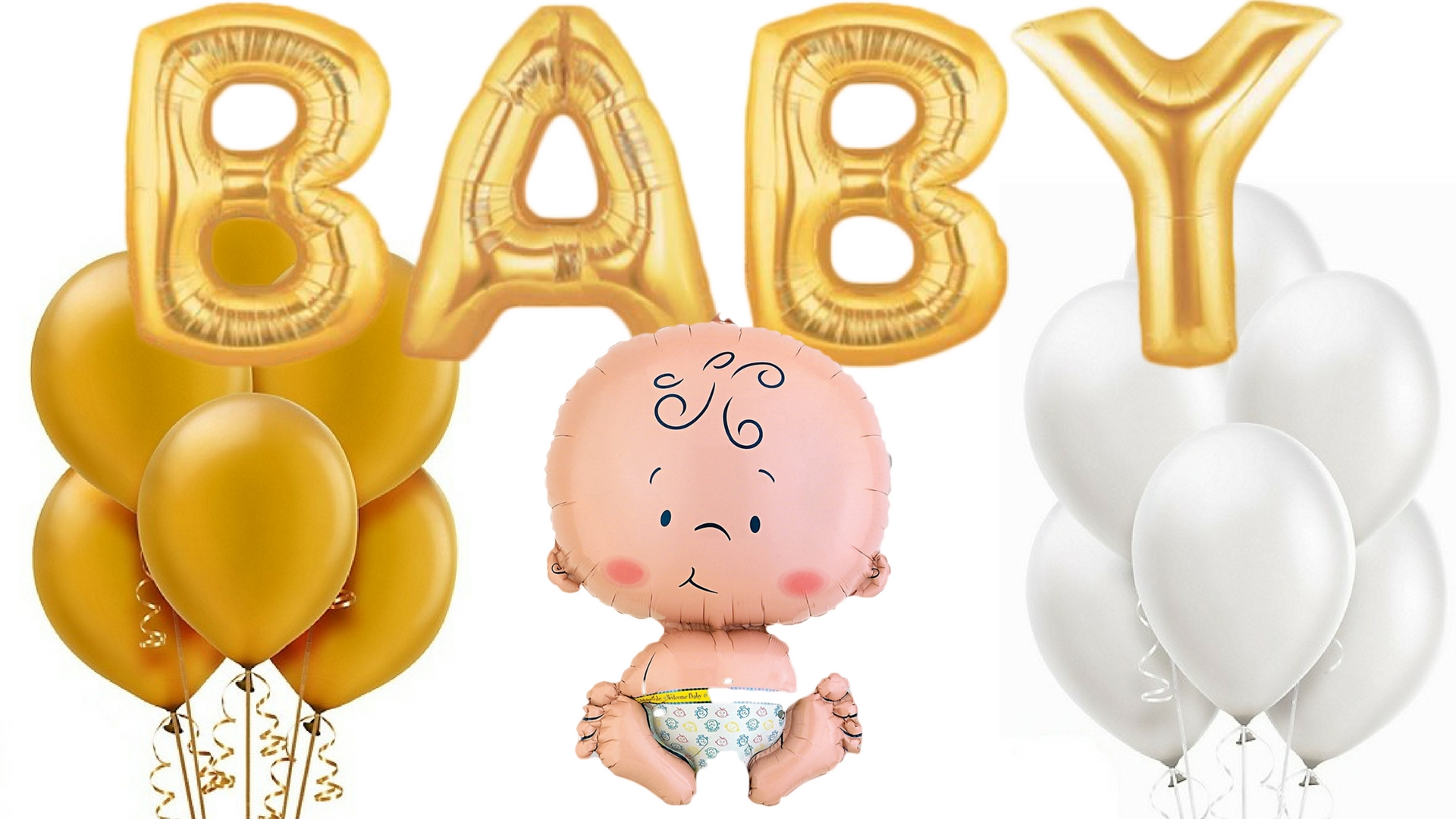 giant baby its a baby gender neutral themed baby shower